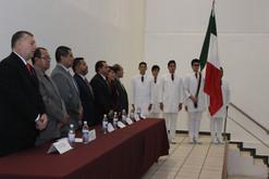 Rinde protesta la nueva directiva del Colegio de Cirugía del estado de Gto
