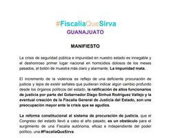 #FiscalíaQueSirvaGuanajuato