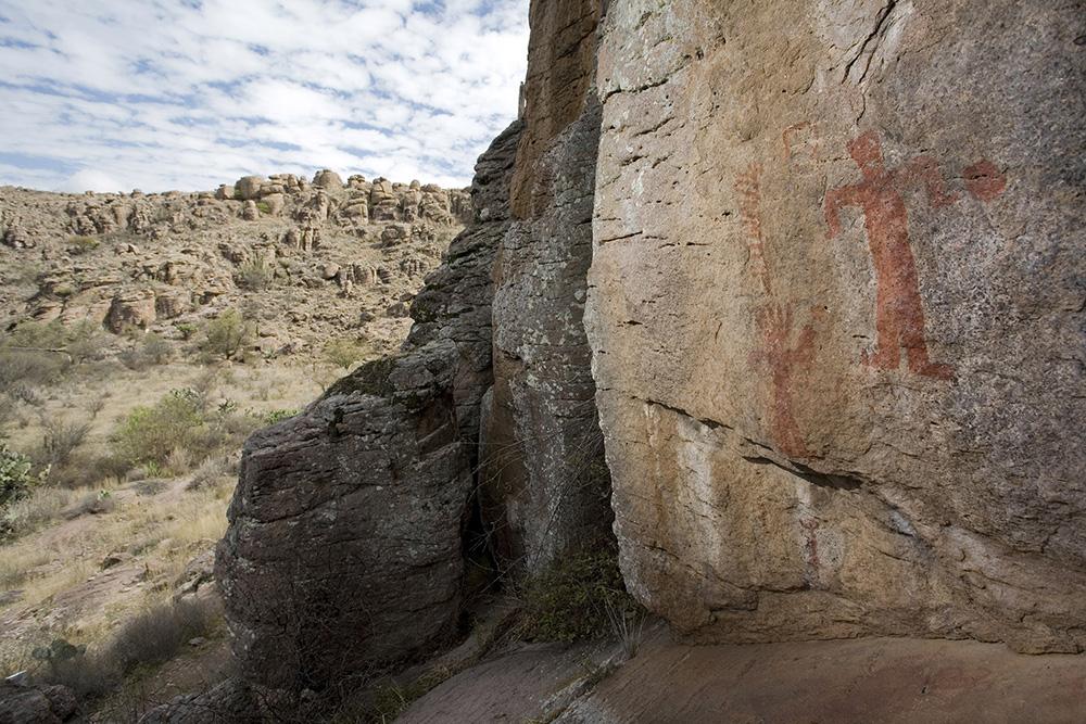 Pintura rupestre en Guanajuato1