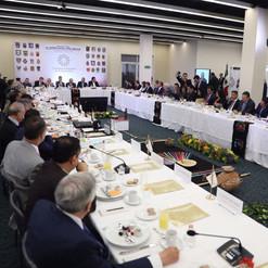 Reuniones de AMLO con gobernadores