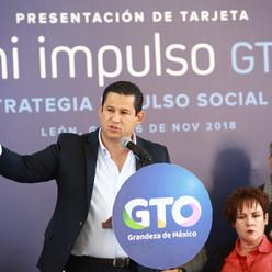 Presentan la Estrategia Impulso Social 2.0 y la Tarjeta Mi Impulso GTO