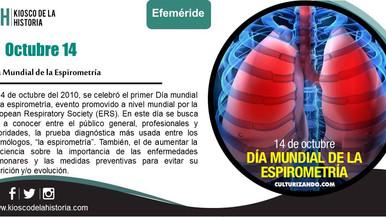 Efemérides del 14 de Octubre