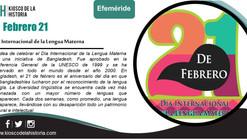 Efemérides del 21 de febrero