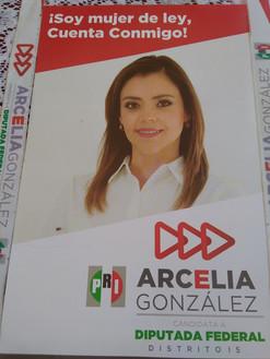 Arcelia González arranca su campaña como candidata a Diputada federal por el Distrito 15