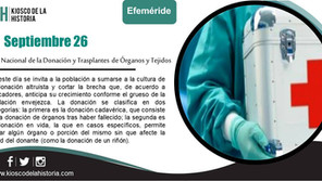 Efemérides del 26 de septiembre