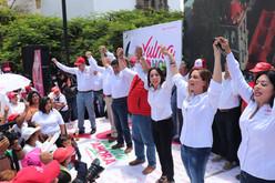 En unidad los candidatos del PRI cierran campañas en Irapuato