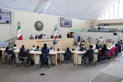 Celebra Congreso Gto el Primer Parlamento para Personas con Discapacidad