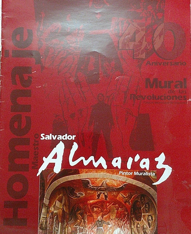 37. Homenaje. Maestro Salvador Almaraz