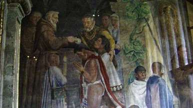 Primer casamiento religioso en México