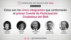 Reciben constancias los integrantes del  Comité de Participación Ciudadana del SNA