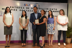 "En Salamanca premian a ""Mujeres Destacadas"""