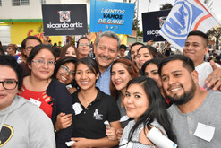 Ricardo Ortiz sostiene un encuentro con jóvenes