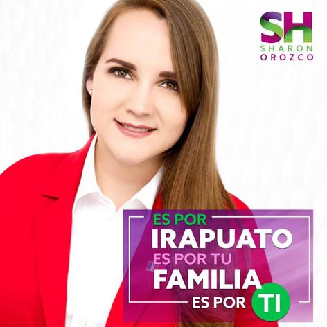 Intensifica Sharon Orozco su campaña en la recta final