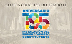 Festejan el 195 Aniversario de la instalación del Primer Congreso Constituyente de Guanajuato