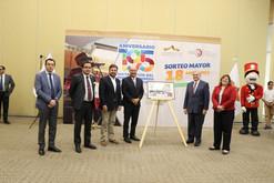 Presentan Billete de Lotería Conmemorativo al 195 Aniversario del Congreso Constituyente de Guanajua