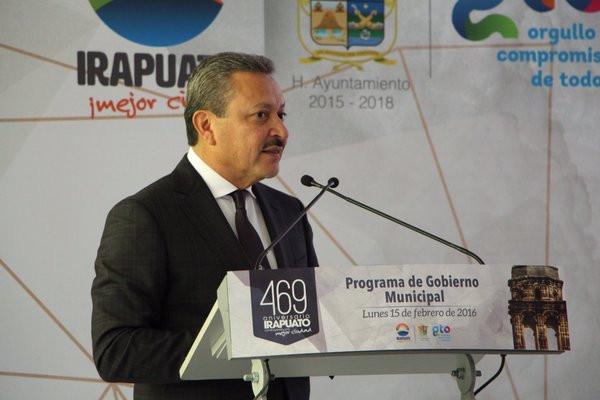 Ricardo Ortiz, alcalde de Irapuato
