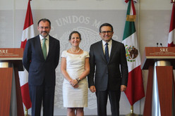 Buscan una renegociación trilateral, México y Canadá