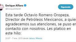 Llegarán a Jalisco 94 mil barriles diarios de gasolina y diésel: Enrique Alfaro