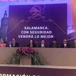 Bety Hernández trabajará para restablecer la seguridad en Salamanca