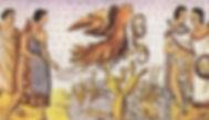 """Códice Durán: es un manuscrito novohispano realizado en la segunda mitad del siglo XVI, por el fraile dominico Diego Durán. Pertenece a la colección de la Biblioteca Nacional de España.  Año: 1570  La Leyenda del nopal: se usó por primera vez para ilustrar el """"Atlas de la historia de los Indios de la Nueva España e Islas de Tierra Firme"""""""