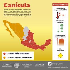 Onda de calor afecta gran parte de México