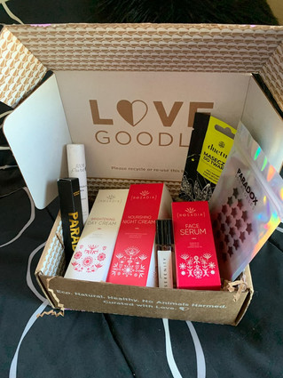 Love Goodly Box December/January + February/March 2020