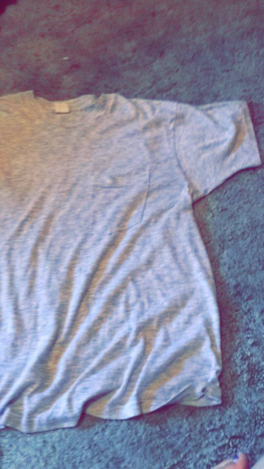 Start with a t-shirt in good condition.