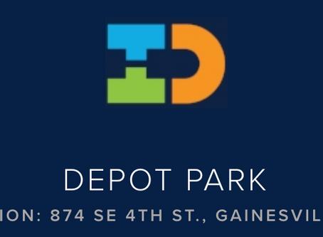 Depot Park- Downtown Gainesville's Beautiful Gem!