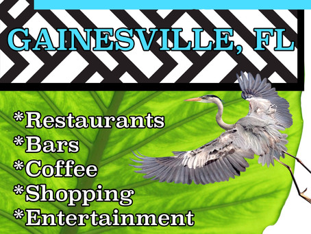 Check out our new Guide to Gainesville, FL 2019