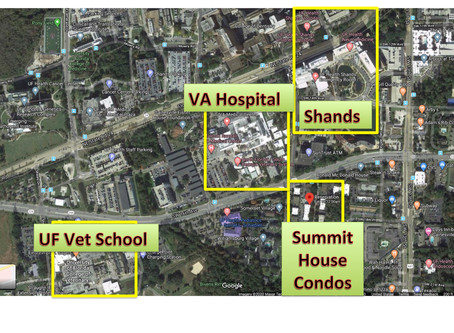 Healthcare Worker Housing - Location, Location, Location- Walk to Shands / UF Health/ VA Hospital