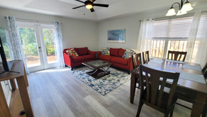 Our newest rental property- a bright and airy 3 bedroom/ 2 bathroom home in a quiet neighborhood.