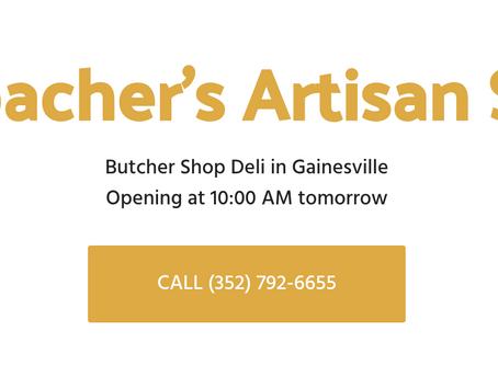Downtown Gainesville has a butcher- yummmmmmmy!