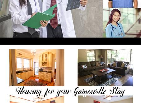Travel Nurse Rentals in Gainesville, FL