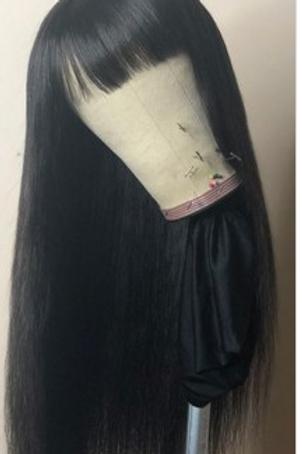 Machine Made Straight Sew In Wig