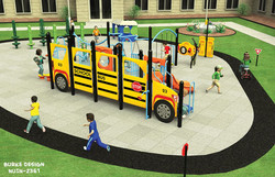 School Bus Playset
