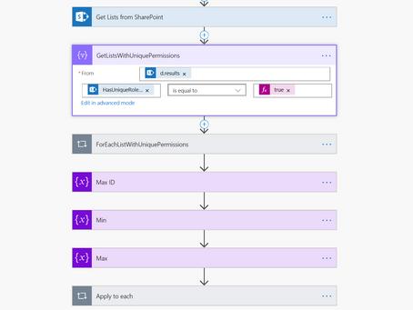 SharePoint: wat wordt met wie gedeeld? Gebruik een Flow!