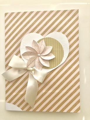 Custom Bouquet Card Front