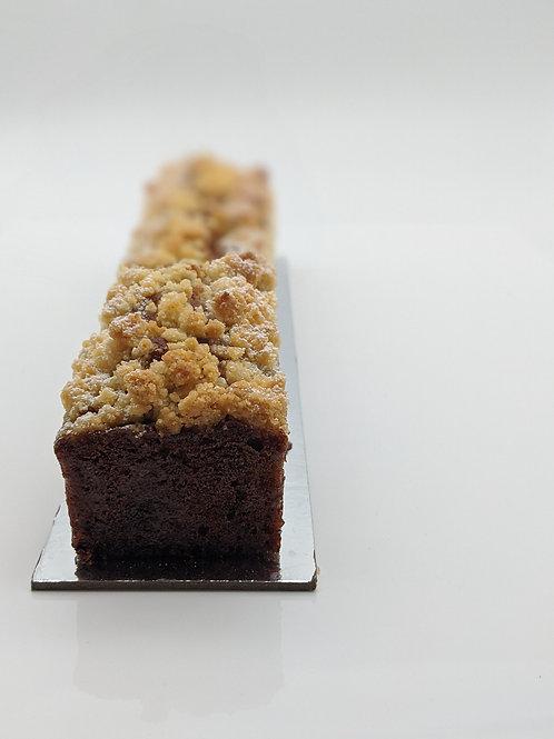 Salted Caramel and Banana Travel Cake