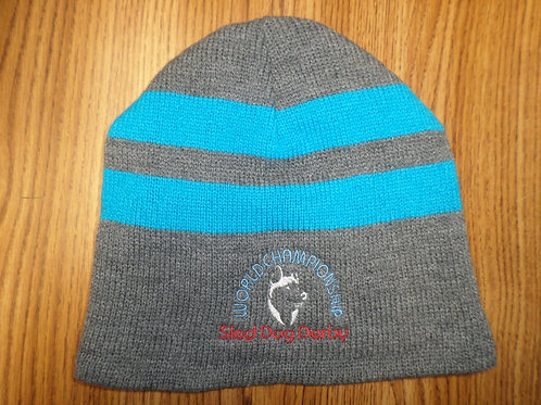 Sled Dog Derby Fleece Beanie Hat