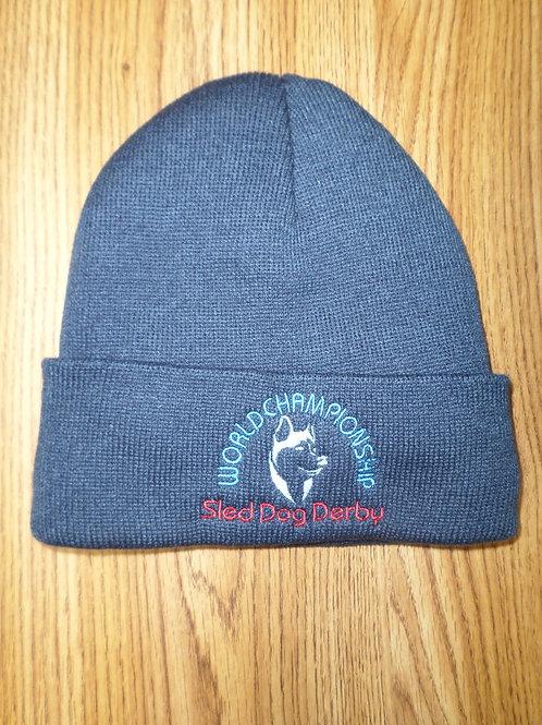 Sled Dog Derby Fleece-Lined Knit Cap