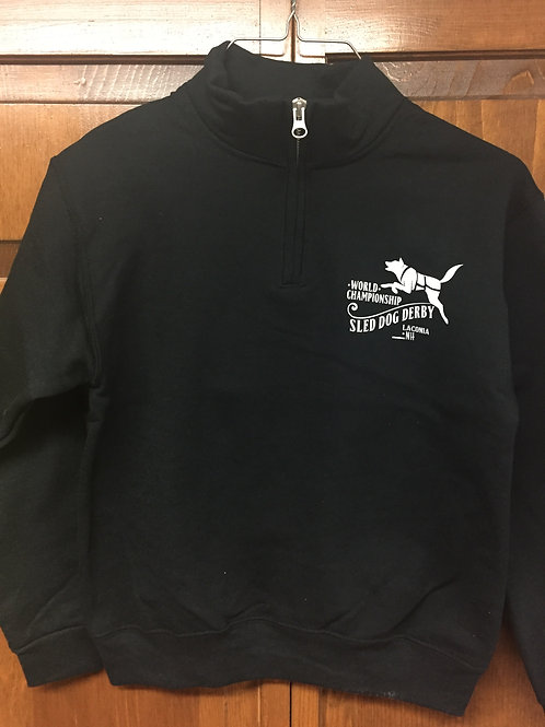 Sled Dog Derby Youth 1/4 Zip Sweatshirt