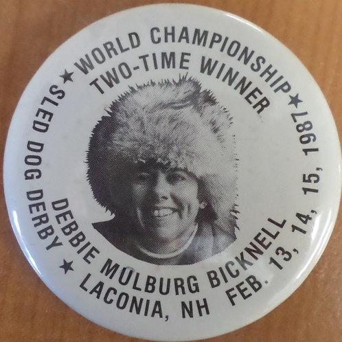 World Championship Button 1987