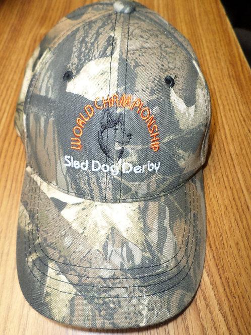 Sled Dog Derby Baseball Cap
