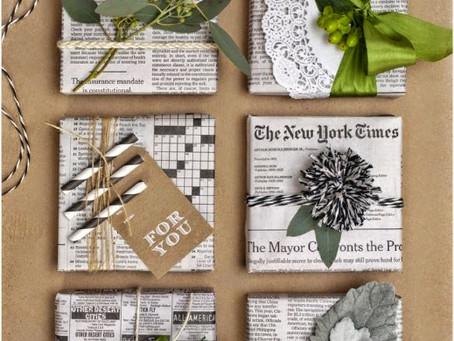 60 ideas para regalos sin basura