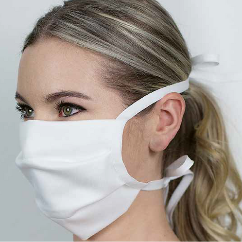 Textile Gesichtsmaske 100% Baumwolle (2 Stück)