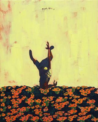 Rơi vào một đám hoa 1 - Falling into the flowers 1