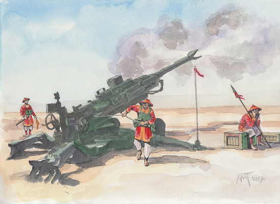 Khẩu đội pháo binh - Cannon Team.jpeg
