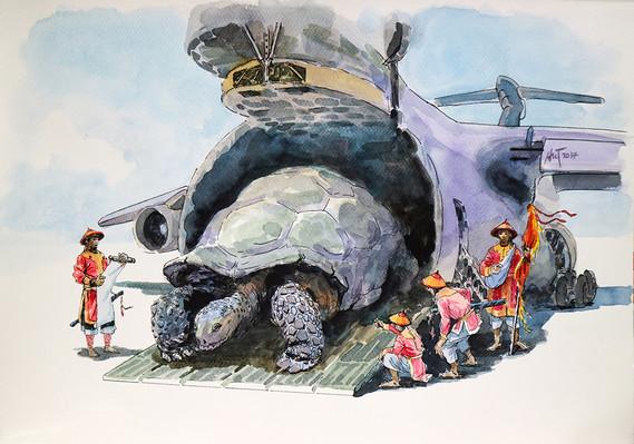 Cung nghênh Rùa đại giá - Welcome The Turtle.JPG