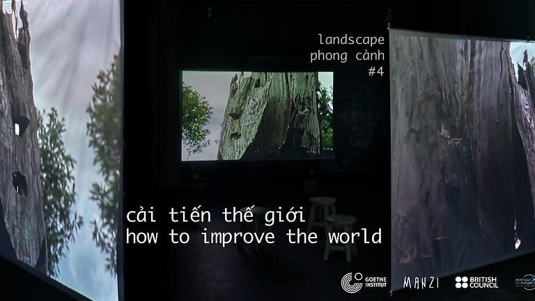 sắp đặt video và âm thanh của | a video and sound installation by Nguyễn Trinh Thi
