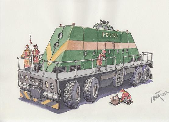 Xe Cảnh sát 1 - Vehicle for Police 1.jpeg